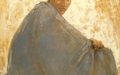 Chico tuareg 100 x 81 cms t mixta tela