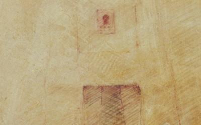 Maison de Djenne 40 x 2 cms t mixta tabla