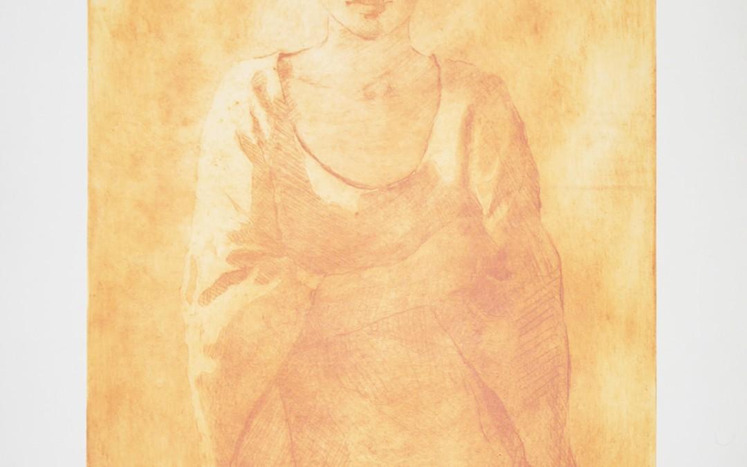 Salama 106 x 66 cms Aguafuerte