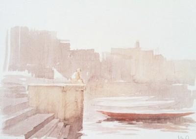Varanasi 28 x 38 cm Fotopolimero