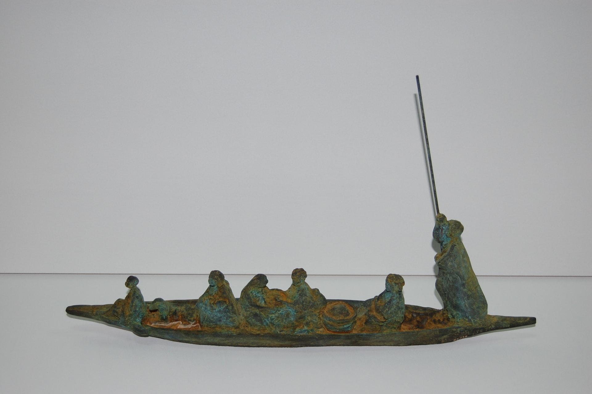Pinaza 25 x 42 x 6 cms bronce numerado a 15