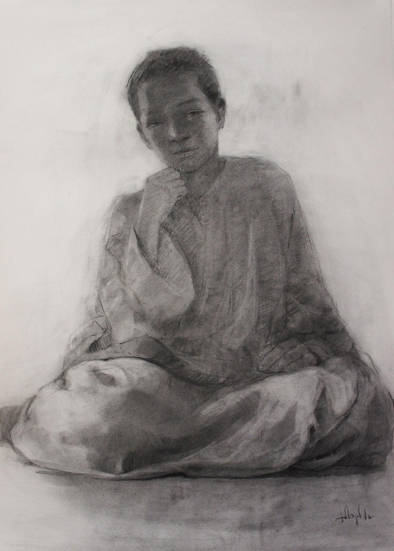 Petit-tuareg-carboncillo-100x70-cm