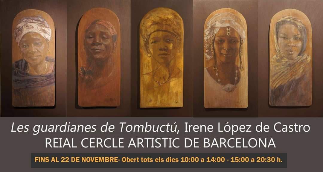 THE GUARDIANS OF TIMBUKTU; Reial Cercle Artistic de Barcelona,  16-10/ 22-11 2020